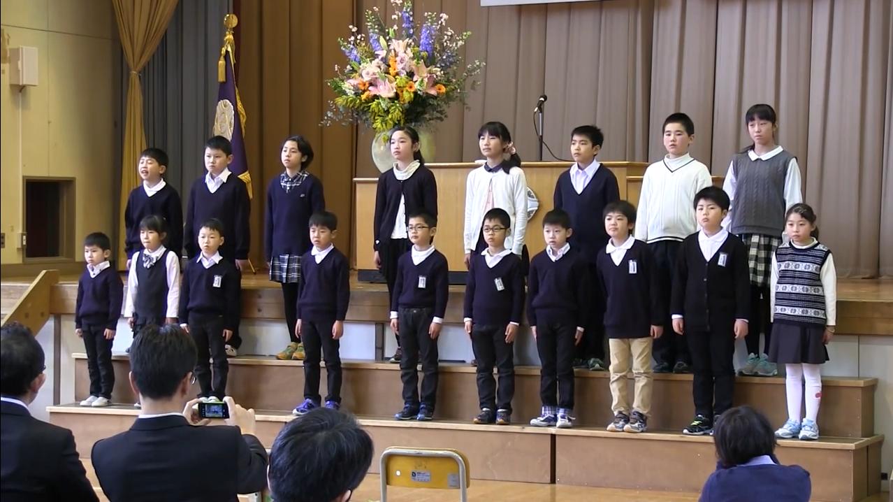 宮戸小学校閉校式